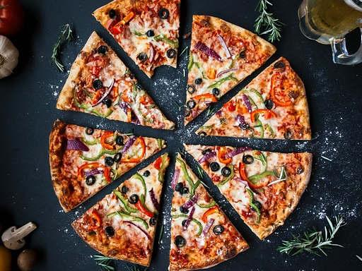 Pizza de quatre saisons