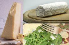 Pâtes au fromage de chèvre et ricotta