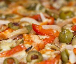 Pizza aux oignons