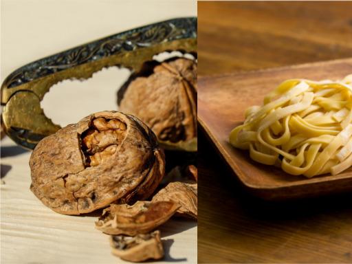 Image des nouilles aux noix